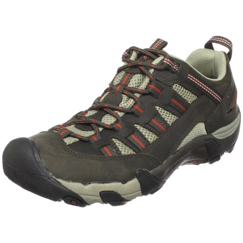 KEEN Men's Alamosa Hiking Shoe Black Olive/Picante clearance manchester great sale 1O7GUOV