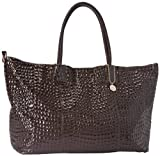 BIG BUDDHA Jsicily Tote,Charcoal,One Size, Bags Central