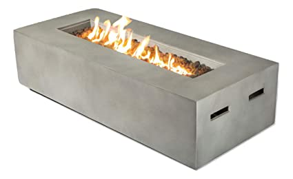 Pleasing Century Modern Outdoor Fire Pit For Outdoor Home Garden Backyard Fireplace Propane Operated Low Height Modern Fireplace Outdoor Furniture Cm 1023C Download Free Architecture Designs Aeocymadebymaigaardcom