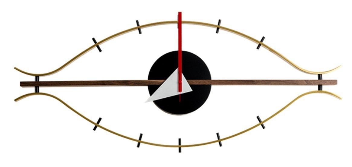MLF®アイクロック ジョージ ネルソン デザイナー壁時計 B019YV7WPQ アイクロック アイクロック