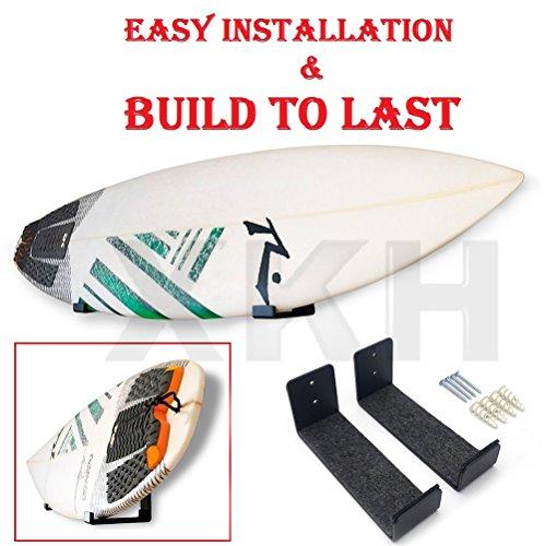 SMT- Surfboard/Wakeboard / Kiteboard/Ski Board Storage Wall Hanger Rack Organizer