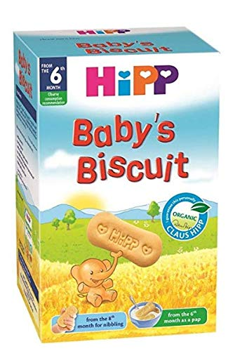 Hipp Baby biscuit from the 6th month (pack of 6) 125g each