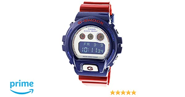 Amazon.com: Casio G-Shock Digital Sports Watch (Blue/Red): Casio: Home Audio & Theater