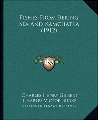 Book Fishes from Bering Sea and Kamchatka (1912)