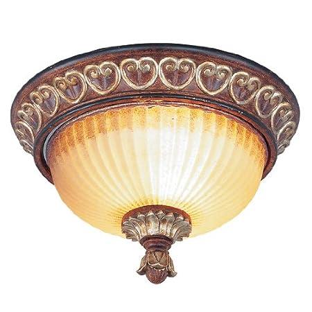 Amazon.com: Iluminación livex 8562 – 63 Villa Verona 2 luz ...