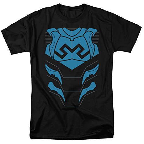 justice-league-blue-beetle-costume-tee-t-shirt-size-s