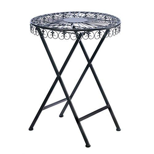Home Locomotion – Fleur-de-lis Patio Table (pack of 1 EA)