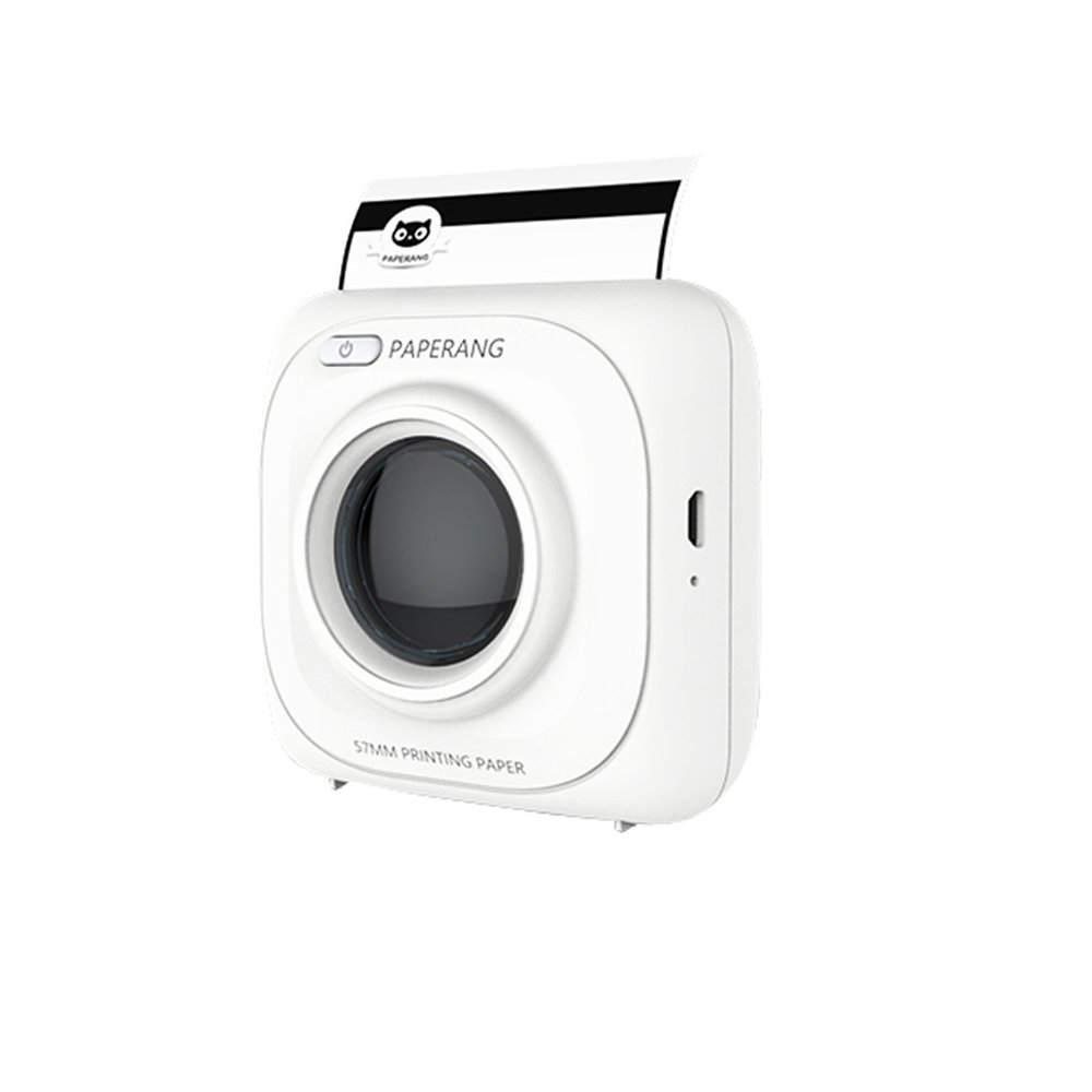 Imprimante thermique mini portable Bluetooth mobile photo impression machine de poche BG&MF