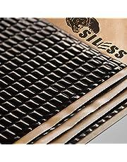 Siless Black 80 mil Sound Deadening mat | Sound Deadener Mat | Car Sound Dampening Material | Sound dampener | Sound deadening Material Sound Insulation | Car Sound deadening