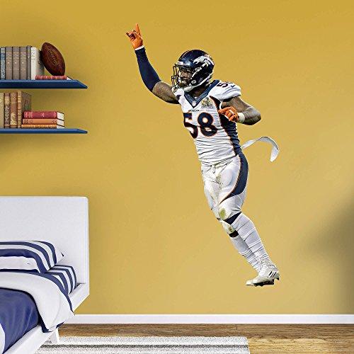 NFL Denver Broncos NFL Von Miller super Bowl 50 MVP Realbig, Real Big by Fathead Peel and Stick Decals