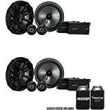 Kicker CSS65 6.5-INCH (160mm) COMPONENT SYSTEM WITH .75-INCH (20mm) TWEETER, Bundle