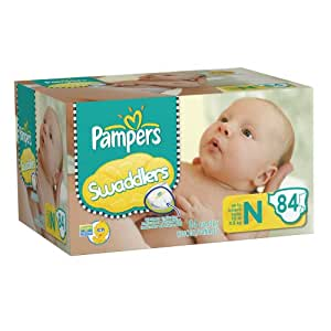Amazon.com: Pampers Swaddlers Diapers Big Pack Size ...