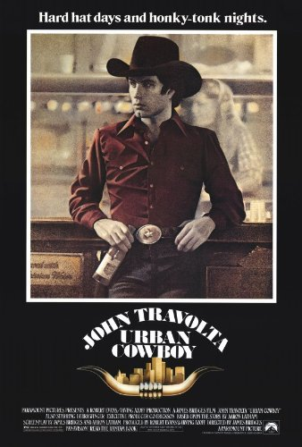 - Urban Cowboy Poster 27x40 John Travolta Debra Winger Scott Glenn