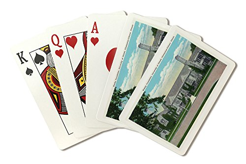 Champaign-Urbana, IL - University of Illinois; Exterior View of the Wesley Foundation Bldg (Playing Card Deck - 52 Card Poker Size with Jokers)
