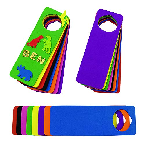 Colorations Doors Foam Door Hangers (Pack of 24)]()