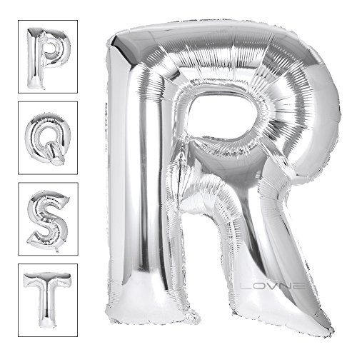 Lovne Alphabet Balloon Birthday Decorations product image