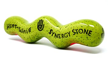 Kiwi Heat Wave Synergy Stone Pro Hot Stone Massage Tool Gets
