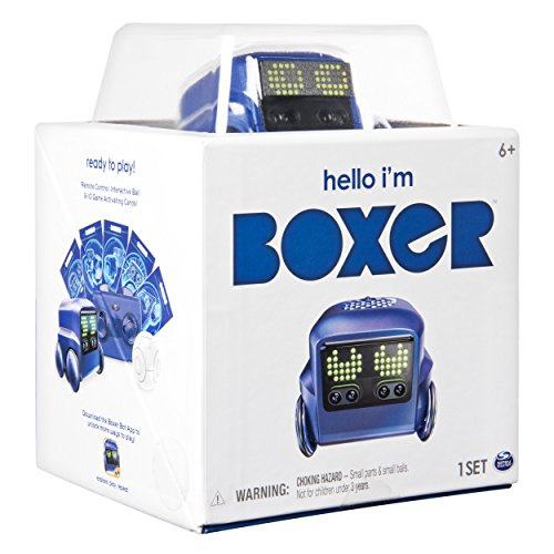51n6HB9vikL - Boxer - Interactive A.I. Robot Toy (Blue) with Personality and Emotions, for Ages 6 and Up