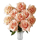 ChezMax Artificial Rose Silk Flowers Bouquet Fake Flowers Arrangement Room Wedding Party Home Garden Floral Decor DIY