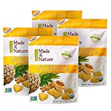 Made In Nature Organic Snacks, Pineapple 16 Ounce - 4 Pack