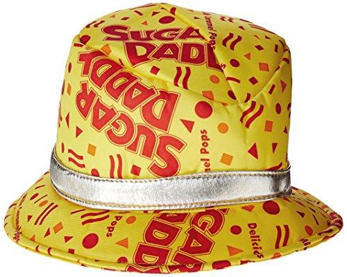 Rasta Imposta Sugar Daddy Hat, Yellow, One Size -