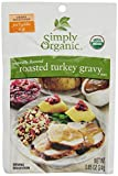 Simply Organic Roasted Turkey Gravy, Seasoning Mix, Certified Organic, 0.85-Ounce Packet (Pack of 12) by Simply Organic