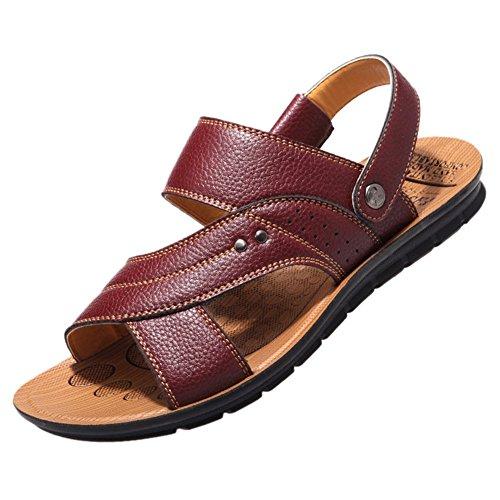 Keplia Cool Skidproof Lightweight Sandles Men Summer Sandals Brown ZTfaGtcT