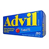 Advil 200 mg, 280 Tablets (Econo Bottle)