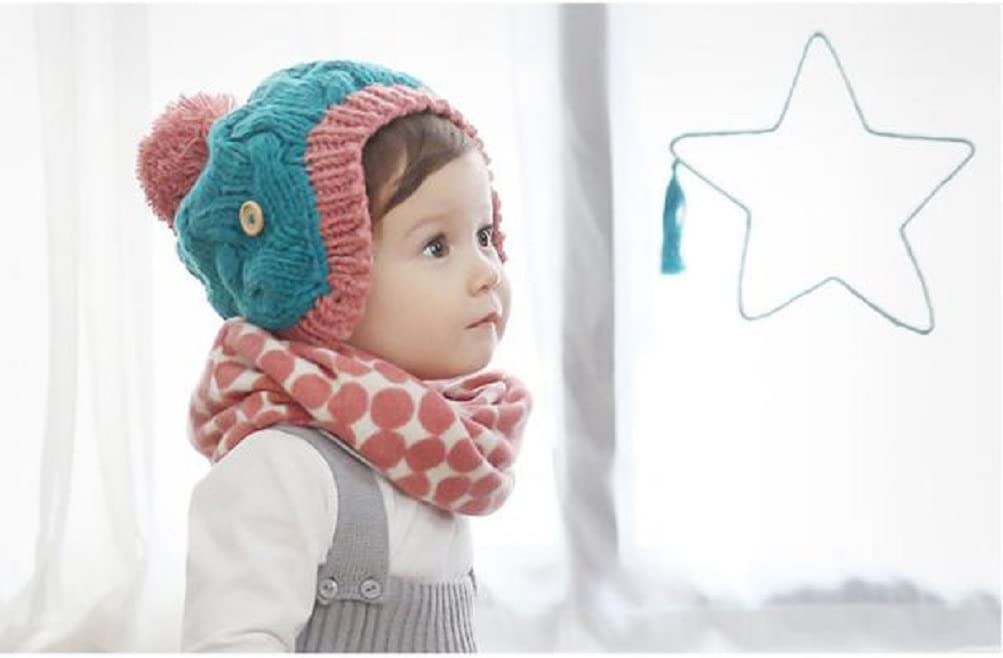 Xinantime Bufandas del Beb/é,Xinan Invierno Ni/ño Ni/ña Collar Pl/átano Algod/ón Pa/ñuelos B/úho Caqui