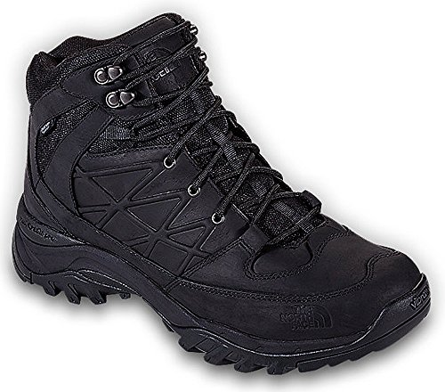 North Face Stone (The North Face Storm Mid WP Leather Shoe Men's TNF Black/TNF Black 10.5)