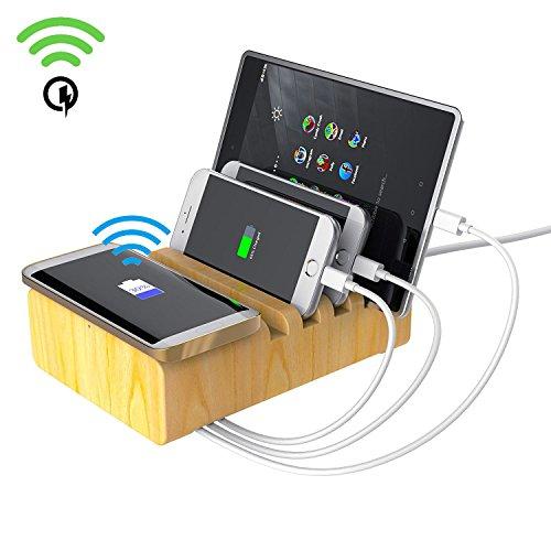 Wireless Charging Station Beeiee Multifunction