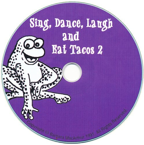 Amazon.com : Sing, Dance, Laugh and Eat Tacos 2 Lyric Book and Music CD Set : Learning And Development Toys : Office Products