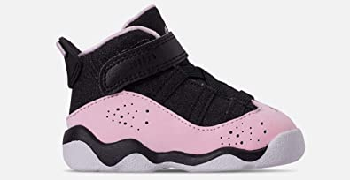 first rate c74ad ac073 Amazon.com | Nike Girls Jordan 6 Rings (td) Toddler Shoe ...