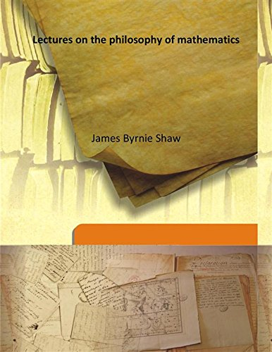 Large book cover: Lectures on the Philosophy of Mathematics