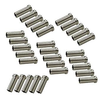 Ochoos 50/30 piezas de fundas protectoras de acero ...