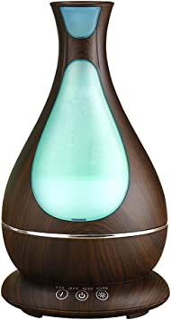 Ultraschall Luftbefeuchter LED 7 Farbe Duftöl Aroma Diffuser Humidifier Diffusor