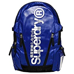 Superdry Men's Sonic Tarp Backpack, Blackcobra Blue, One Size