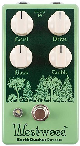 EarthQuaker Devices Westwood Translucent Overdrive Manipulator by Earthquaker Devices