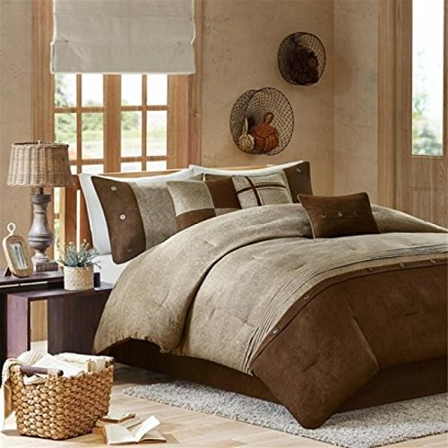 Madison Park MP10-905 Madison Park Boone 7 Piece Comforter Set King