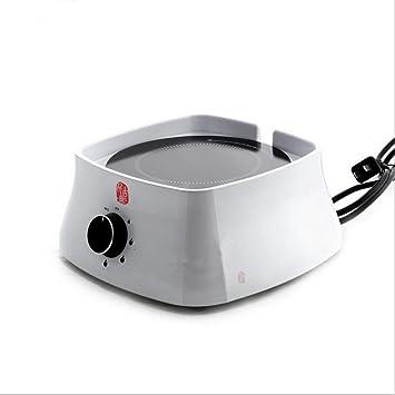 Dedicado tetera eléctrica horno de cerámica baquelita Madera Inteligente Inicio Mini Silencio hervido agua de cocción estufa pequeña té , ivory: Amazon.es: ...