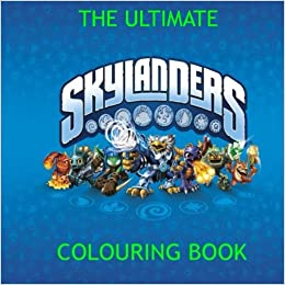 Amazon.com: The Ultimate Skylander Colouring Book: Gift, Present ...