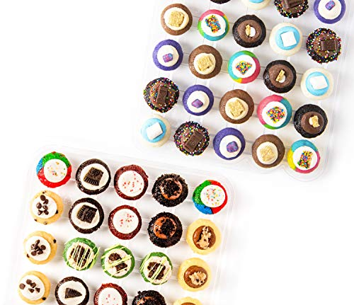 Baked by Melissa Cupcakes Camp Assortment - Assorted Bite-Size Cupcakes (50 Cupcakes) (Cupcakes Melissa By Baked)