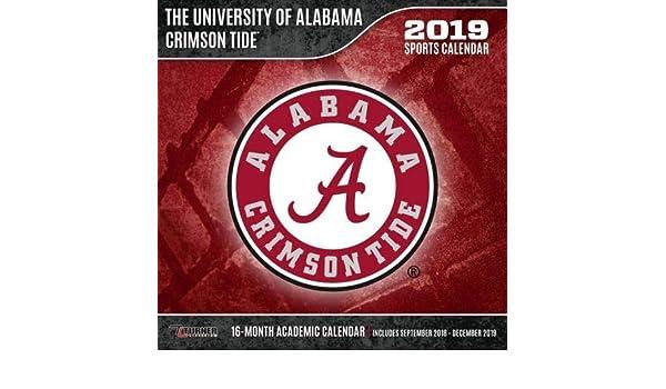 University Of Alabama Academic Calendar.Amazon Com The University Of Alabama Crimson Tide Sports Wall