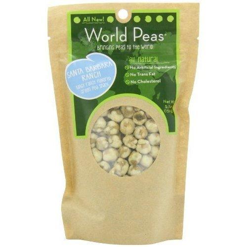 World Peas Green Peas Santa Barbara Ranch 5.3 Ounce (Pack Of 6) by World Peas