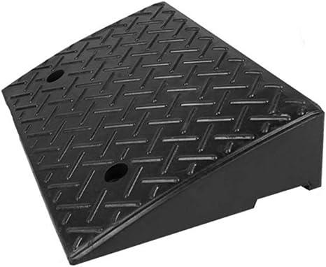 494919CM Kerb Ramps Color : Black, Size : 494919CM 11 way bike CSQ-Ramps Wheelchair Uphill Ramps Non-Slip Kerb Plastic Ramps Yard Threshold Ramps Household Garage Vehicle Ramps