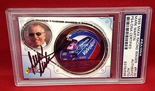 Mark Martin Signed 1999 Maxx Racing Images Card Slabbed # 83792595 - PSA/DNA Certified - Autographed NASCAR Cards