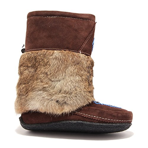 MUHLUHS Woman Marron 3991U Marrone Canada Stivale Donna Boots H7xzHw