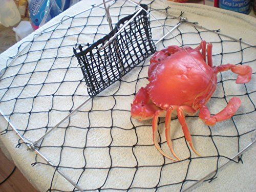 Crab trap with bait pouch fishing pole 20 x 15 for Fishing pole crab trap