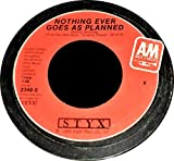 Styx: Nothing Ever Goes As Planned (4:46 Stereo Version) b/w Nothing Ever Goes As Planned (4:46 Mono Version)