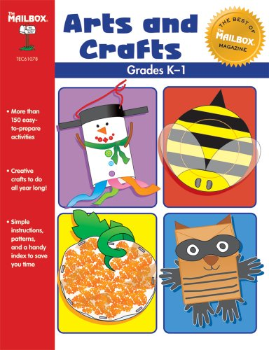 The Best of THE MAILBOX Arts & Crafts (Grs. K-1) (Book Mailbox 1)
